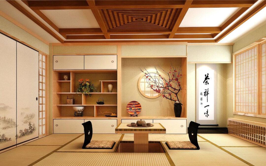 Linee pulite con lo stile giapponese