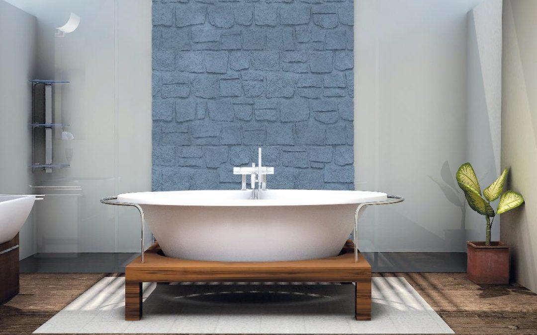 Rivestimenti in pietra per un bagno perfetto